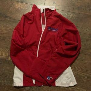 KU vintage rain jacket